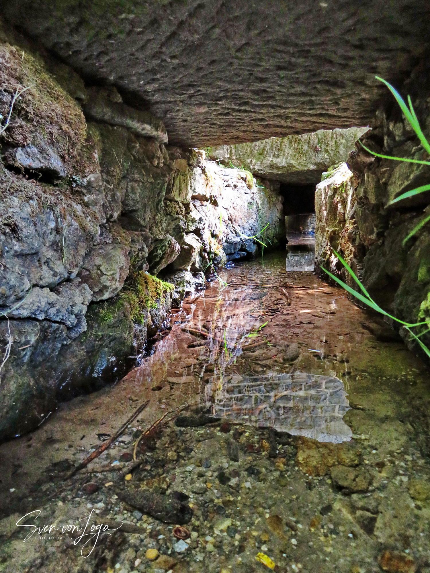 Grüner Pütz bei Nettersheim - Start der römischen Wasserleitung aus der Eifel nach Köln