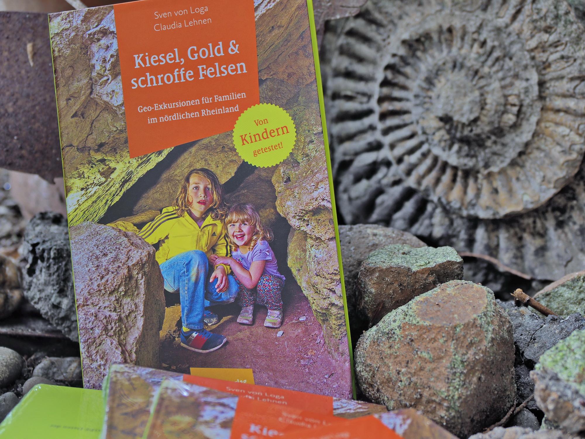 Kiesel, Gold und schroffe Felsen. Exkursionen und Ausflüge im Rheinland.