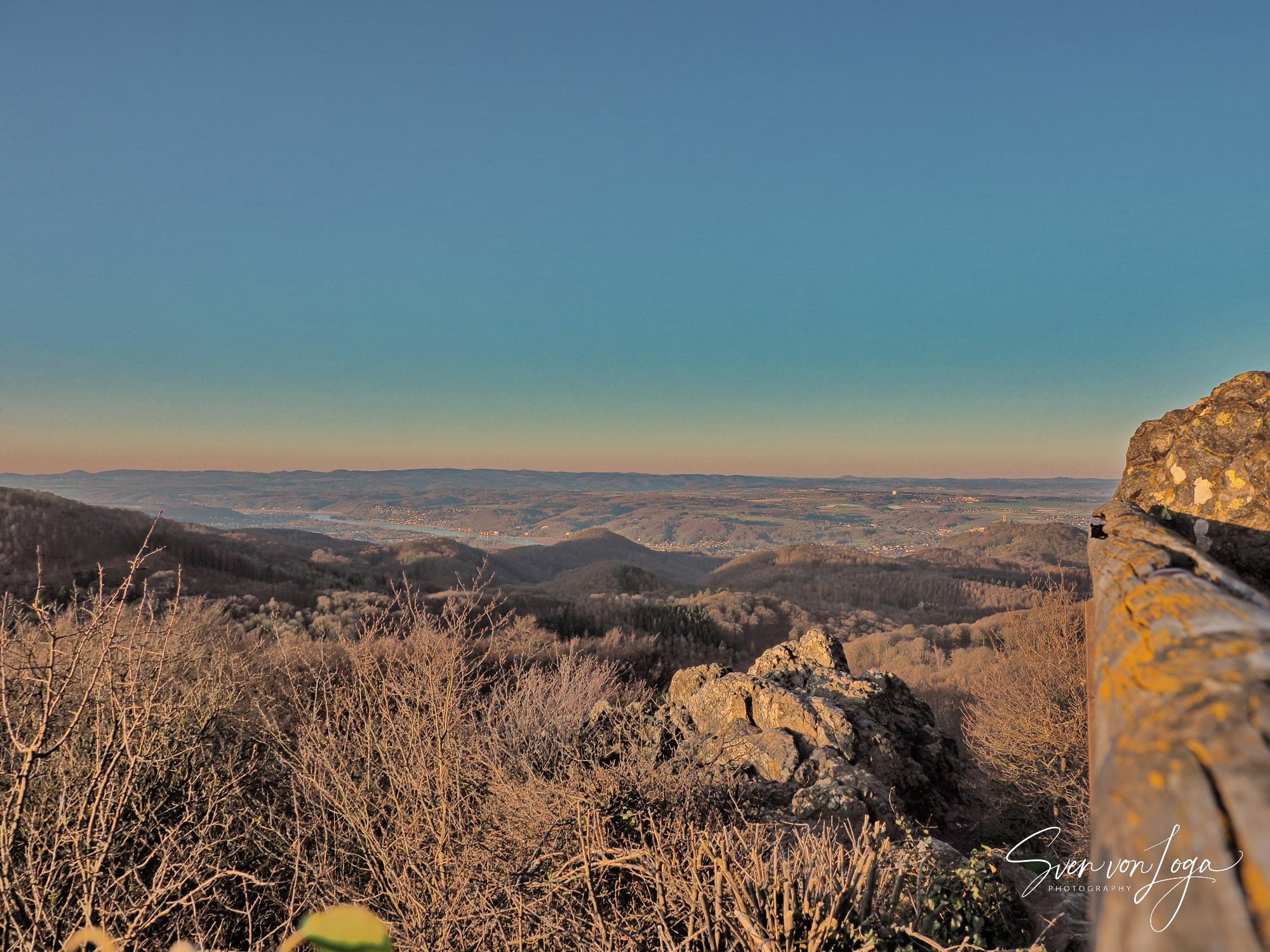 Frühmorgens auf dem Oelberg im Siebengebirge