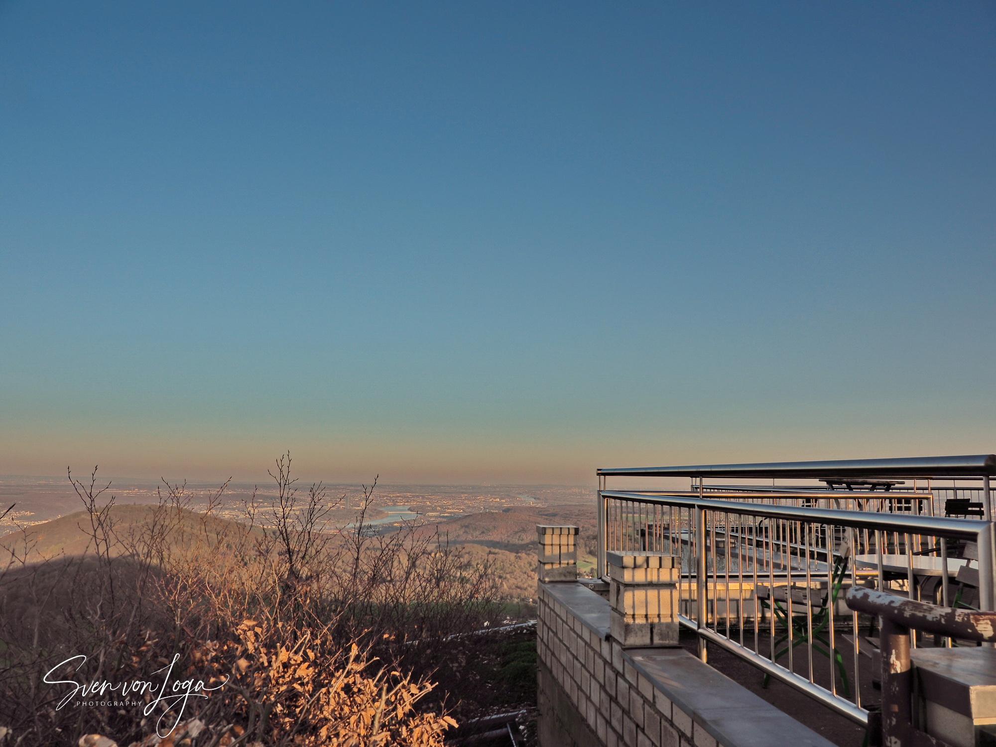 Sonnenaufgang auf dem Oelberg